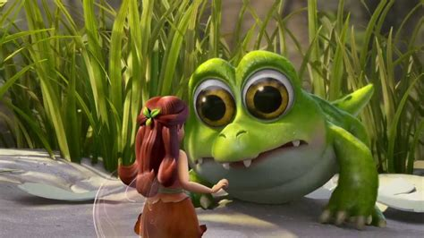 Tinker Bell And The Pirate Fairy - Baby Crocodile - YouTube