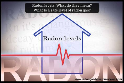 Radon levels: What do they mean? What is a safe level of