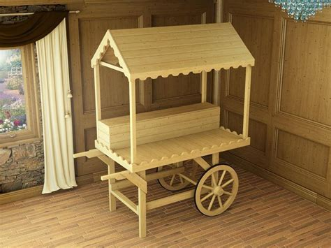 Sophie Victorian Candy Cart W0
