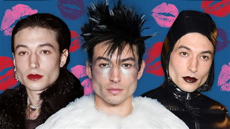 Ezra Miller Shows How Gender-Fluid Lipstick Can Be—Beautifully