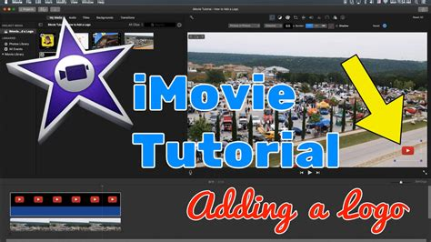 iMovie Tutorial 2016 - How to Add a Logo to Your Video