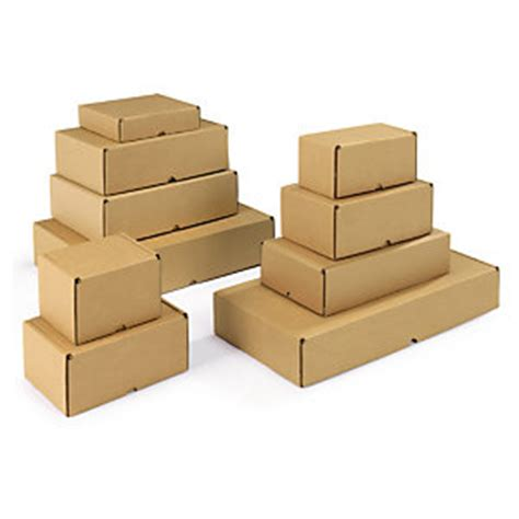 Easifold brown, fast assembly postal boxes | Rajapack
