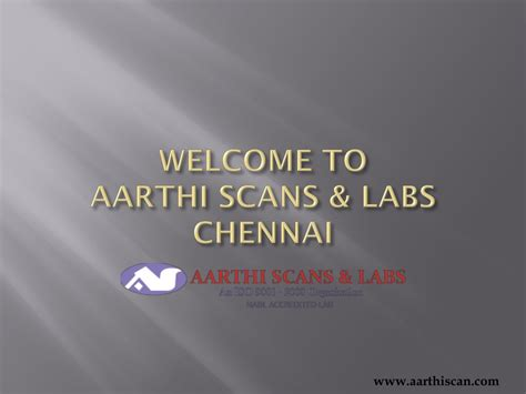 PPT - Aarthi scans labs Chennai - Best Diagnostic Centre
