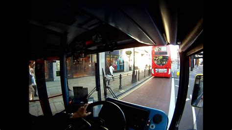Bus Driver View Route 3 Cristal Palace to Oxford Circus