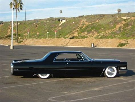 1966 Cadillac Coupe DeVille in black