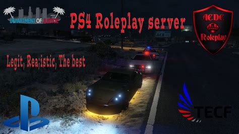 Best GTA V Roleplay Server For PS4 [OPEN] (Realistic