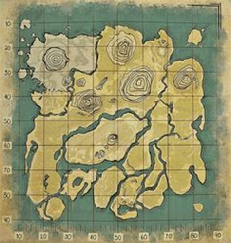 ARK: Survival Evolved — A high-quality custom map of the
