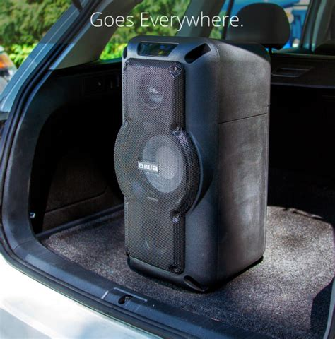 Aiwa Makes Partying Portable with the Exos-X8 Speaker