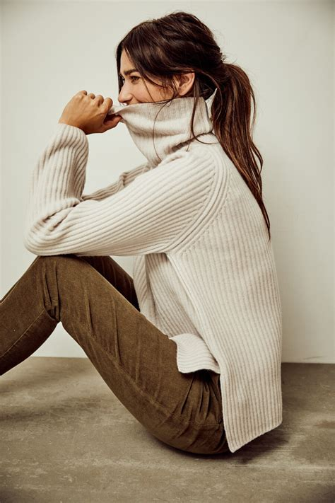 Annet pullover col cotton/modal - Woman by Earn