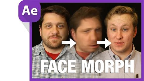 Morph face after effects tutorial - YouTube