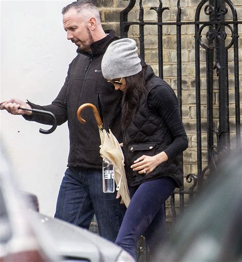 Meghan Markle Sneaks Out of Kensington Palace for Workout