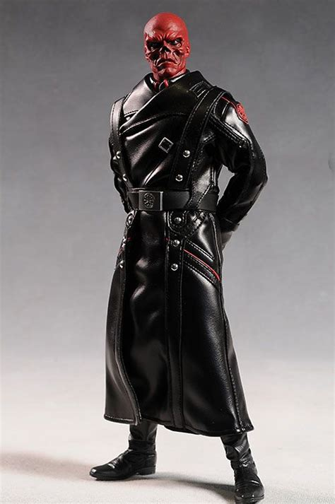 Red Skull sixth scale action figure | Red skull marvel