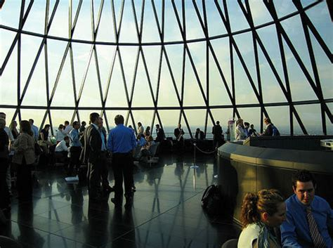 #6: Drinks on top of the Gherkin - 1000 Things to do London